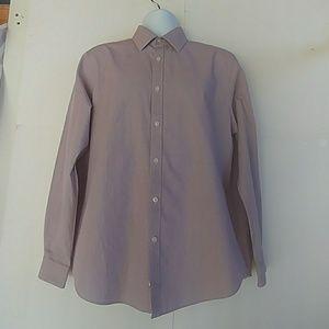 Michael Kors Men's Purple/White Dress Shirt